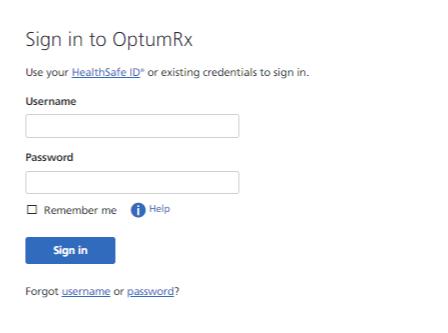 OptumRx Portal